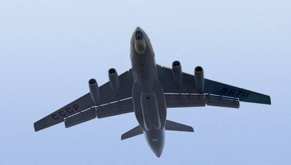 IL-76MDは工場試験の枠組みの中で最初の長い飛行をしました