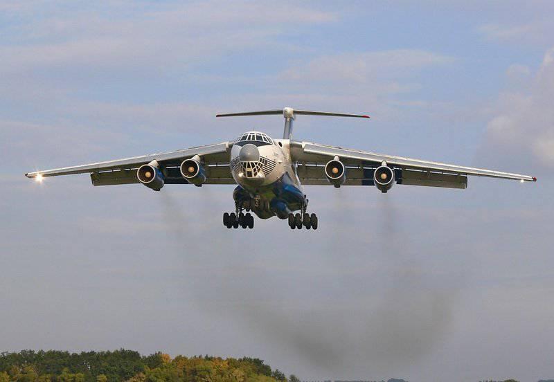 """...принадлежащего Министерству обороны, 23 самолета компании (Ил-76) и 18 вертолетов  """"были разукомплектованы и..."""