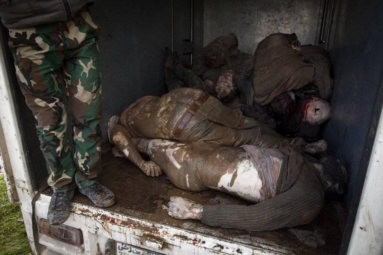 Terroristen führten in Aleppo ein neues Massaker durch
