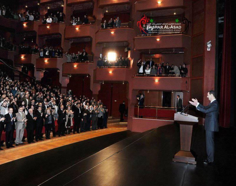 Овации сторонников, злоба врагов. Президент Сирии обратился к народу