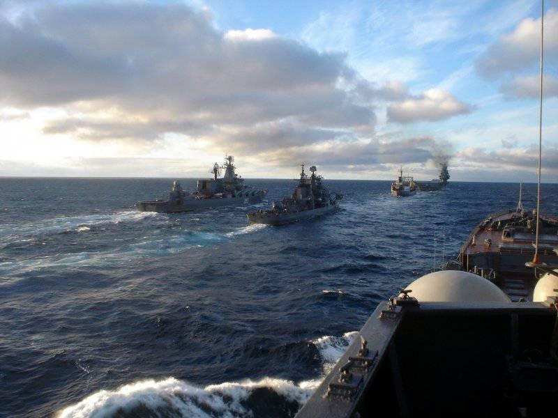 Шестой флот США не смог прорваться к побережью Сирии