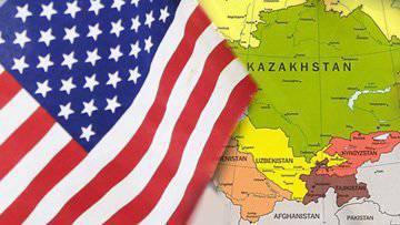 США: продвижение интересов в Средней Азии