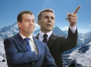 Russland und Georgien: enge Kontakte dritten Grades