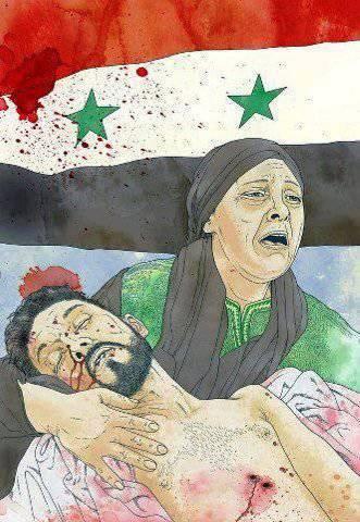 El sionismo y el fascismo atacan al amanecer.