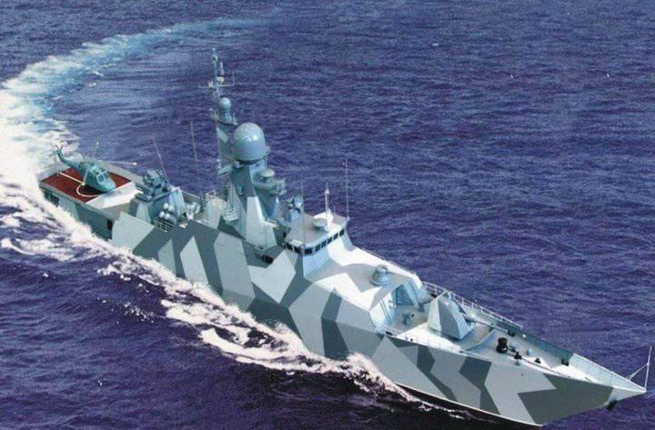 """在58250项目的护卫舰上会发生什么,或者我们自己""""和Vusami"""""""