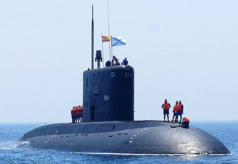 """Submarinos diesel-eléctricos del proyecto 877 """"Halibus"""""""