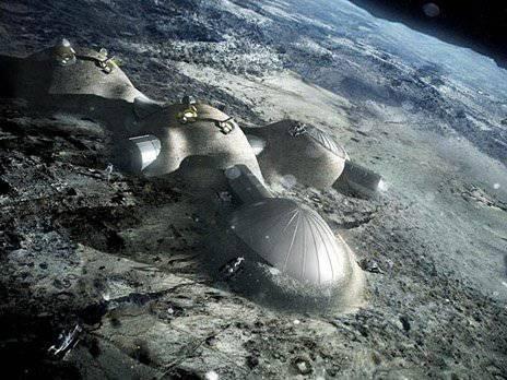 Les gens se préparent à la colonisation de la lune. La base de la lune sera imprimée par l'imprimante