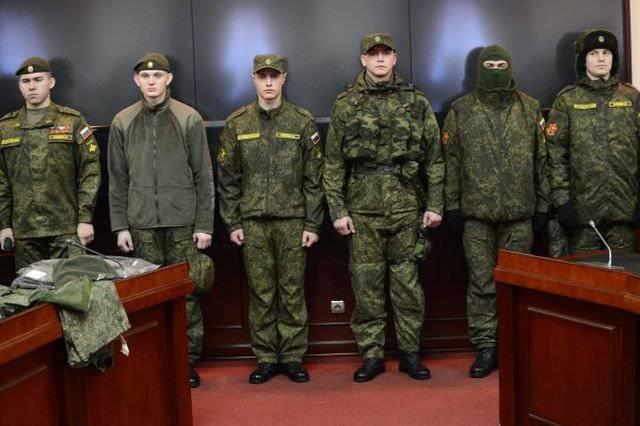रूसी सेना पूरी तरह से 2015 द्वारा एक नई वर्दी पर स्विच करेगी।