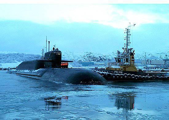 """मिसाइल पनडुब्बी """"वेरखोटुरी"""" उत्तरी बेड़े की लड़ाकू संरचना में लौट आई"""