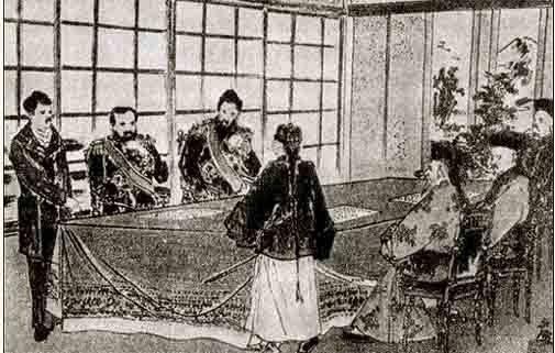 Pregunta del lejano oriente. Cómo Rusia se desahogó con Japón. Parte 3