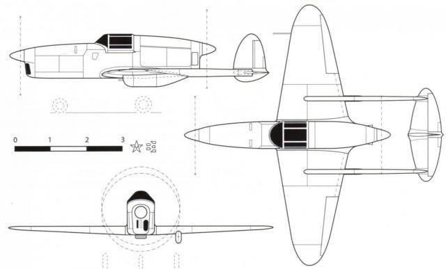 सोवियत अनुभवी हल्के लड़ाकू CAM-13
