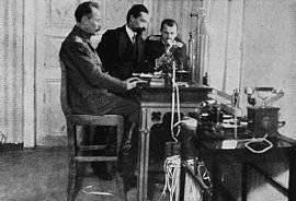 Guerra telegráfica en el frente ruso-japonés en 1904 - 1905