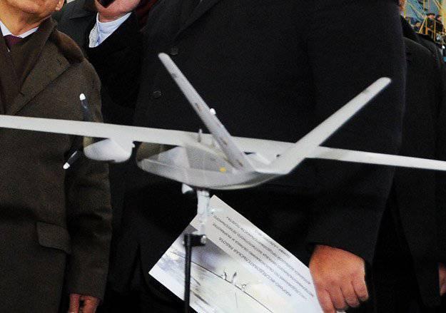 La aparición de un drone secreto revelado durante una sesión de fotos con Shoigu