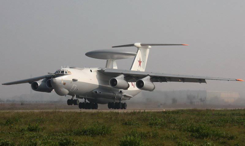 """A-50U - """"avión seta"""" o un nuevo complejo aerotransportado AWACF"""
