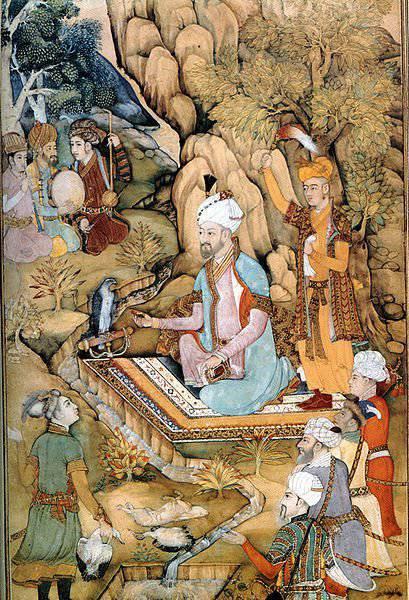 14 February 1483는 Babur-Tigr, 인도의 위대한 정복자로 태어났습니다.