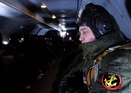 कैस्पियन फ्लोटिला मरीन सेना विमानन के साथ संयुक्त अभ्यास शुरू करते हैं