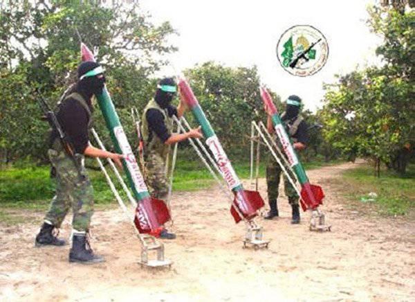 Ракеты ХАМАСа. Самодельное