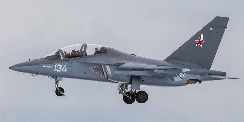 याक-एक्सएनयूएमएक्स - रूस के युद्ध-प्रशिक्षण विमानन का वर्तमान और भविष्य