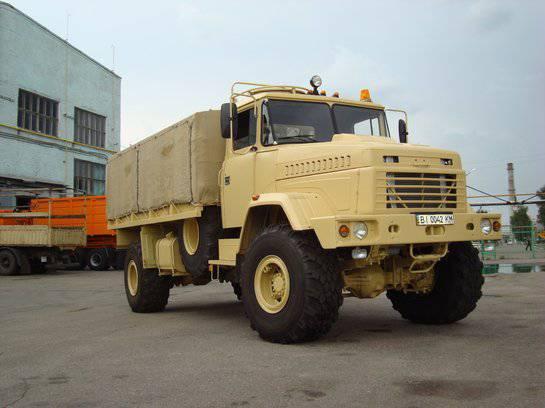 El nuevo transportista blindado de personal KRAZ-ASV / APC / 2013 se presentará en IDEX-2013