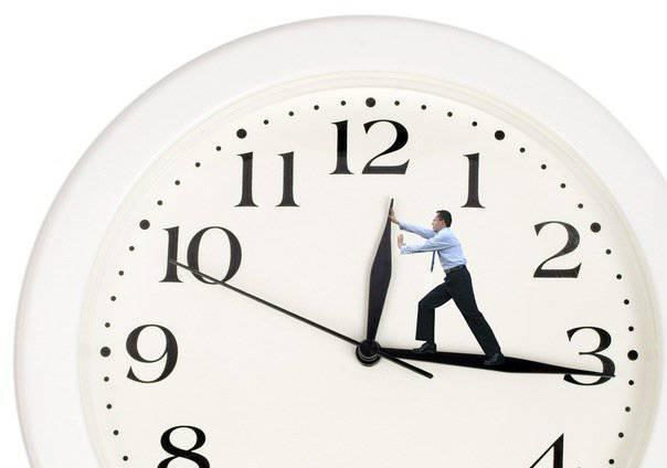 समय के बारे में और अपने बारे में