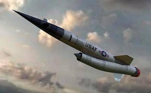 El proyecto de misiles de crucero intercontinental Ling-Temco-Vought SLAM (Pluto) (EE. UU., Año 1957-1964)