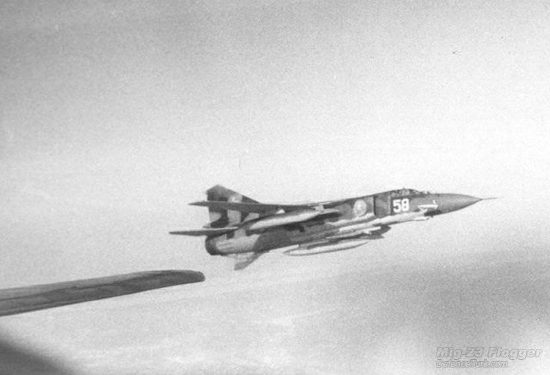 Cazas soviéticos en la USAF, MiG-23 (parte 4)