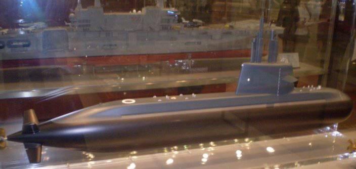S1000 डीजल-इलेक्ट्रिक पनडुब्बी परियोजना पर काम फिर से शुरू करना