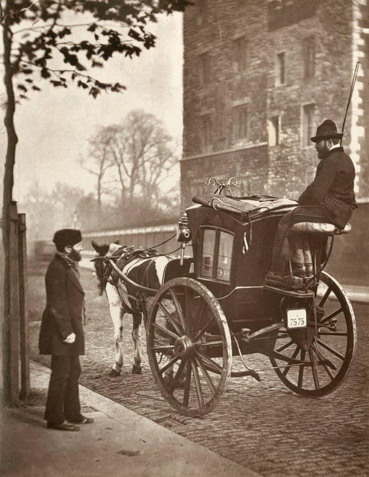 La vida de la calle de Londres en 1876-1877