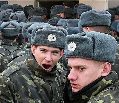 """La OTAN ha robado, Ucrania ha fumado ..."""