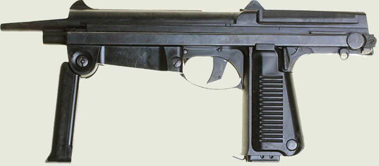 Польский пистолет-пулемет РМ-63