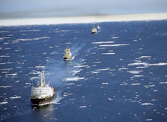 Rus Arktik - öbeğini kesmek mi?
