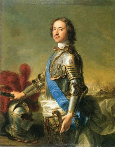 26 Febrero 1714 Propulsión Peter I emitió un decreto que prohíbe asignar rangos de oficiales a los nobles que no sirvieron como soldados