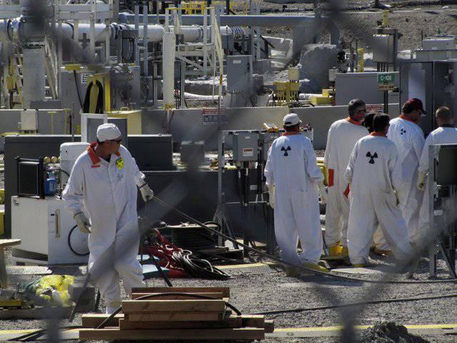 Ungefähr 11 Liter radioaktiver Abfälle pro Tag entweichen aus dem US-amerikanischen Bestattungsplatz