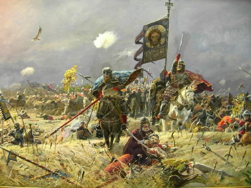 Kulikovo 필드 전투의 비밀