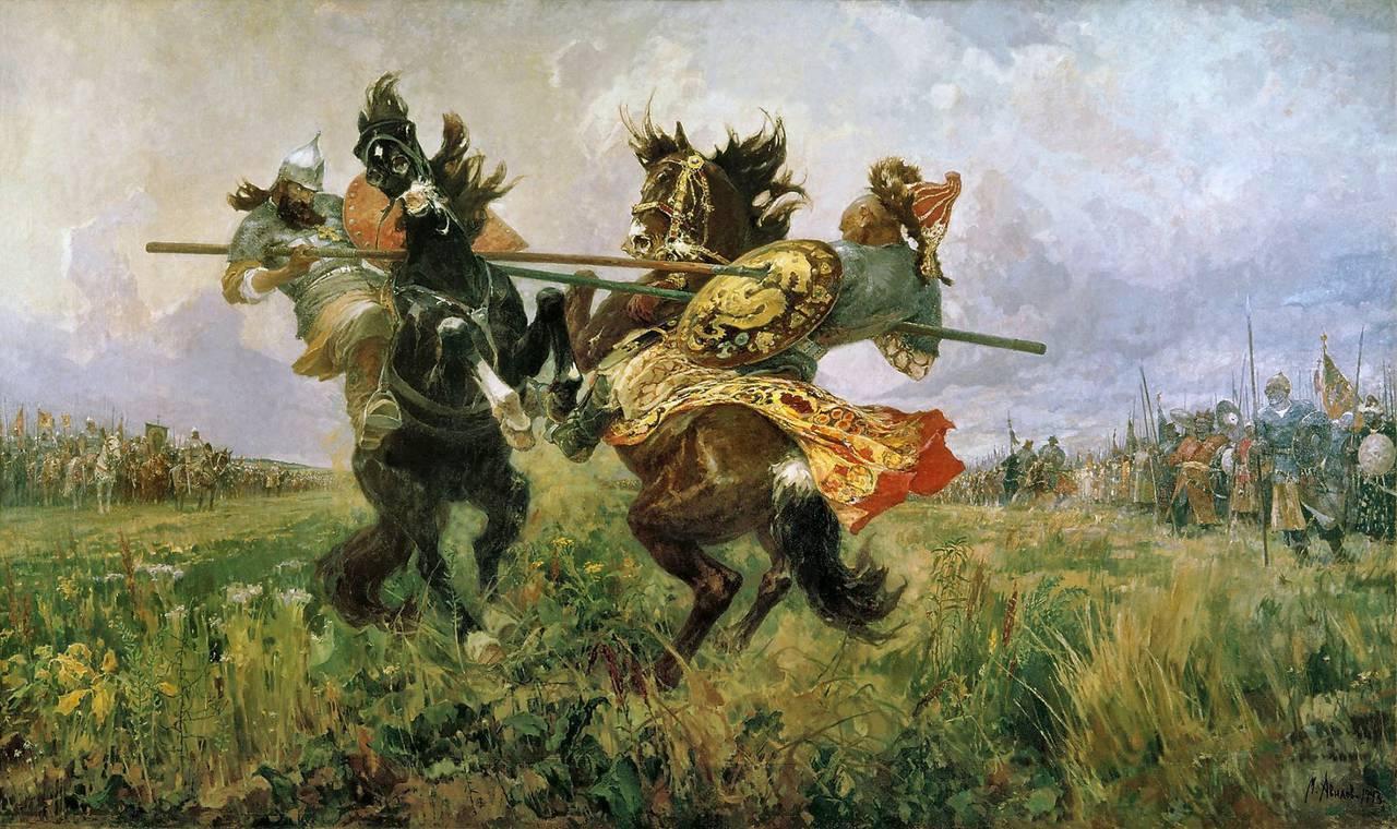 картинки битва на поле куликовом