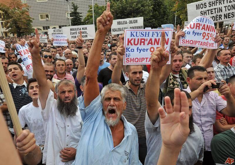 कोसोवो दुनिया खिलाफत के संघर्ष की एक चौकी के रूप में