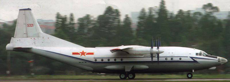 Shaanxi Y-8 - Chinese version of An-12