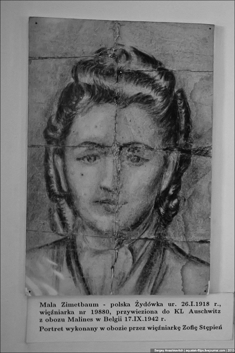 Auschwitz mahkumlarının çizimleri