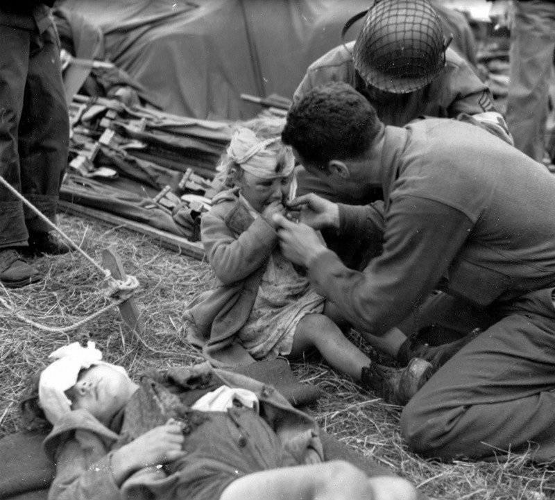 La guerra no es la cara de un niño.