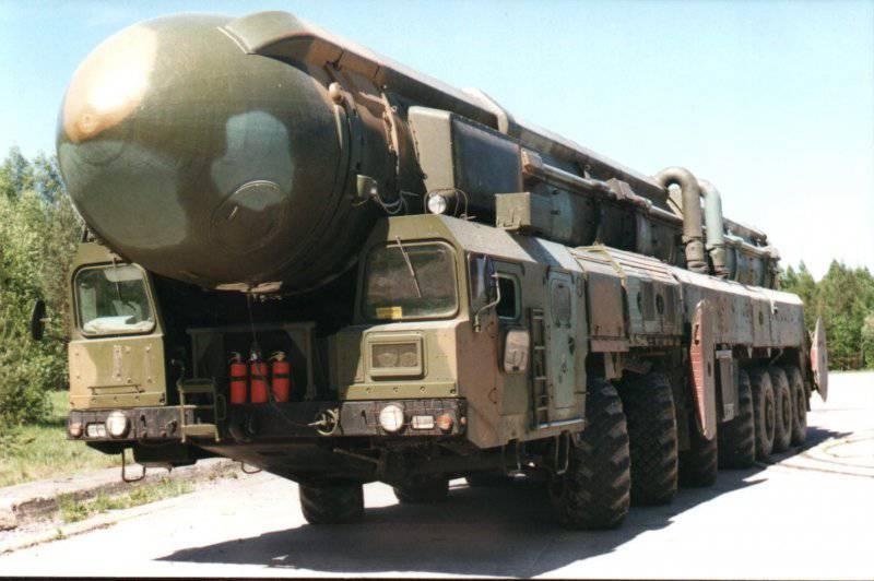 Межконтинентальный ракетный комплекс «Тополь-М»