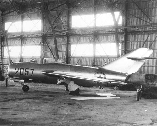 Советские истребители в ВВС США (часть 1)