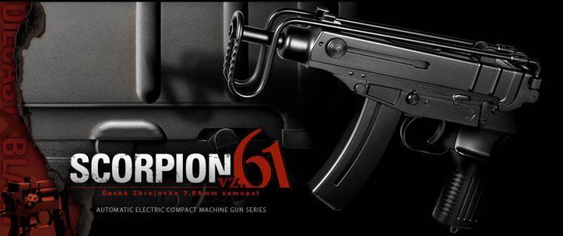 Пистолет-пулемет Scorpion Vz.61