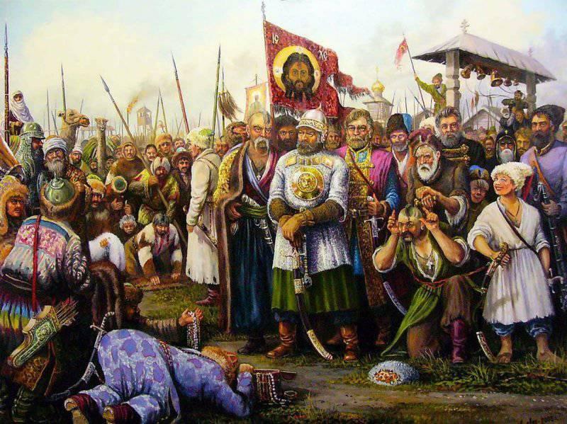 Образование Волжского и Яицкого Казачьих Войск