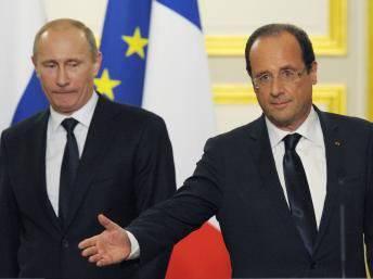Putin, Hollande y el tema del alcohol.