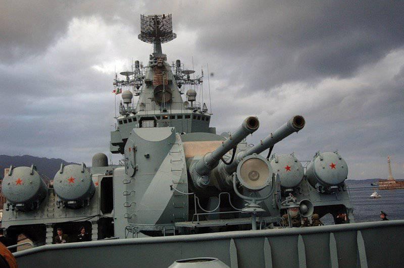 """Ракетные крейсера проекта 1164 """"Атлант"""""""