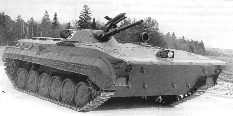 """""""1200 Nesnesi"""". Tekerleğin gelecekteki rakibi BMP-1"""