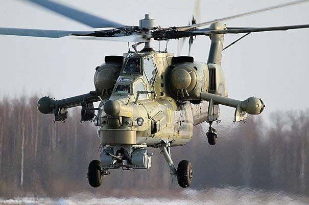Güney Askeri Bölge Havacılığı, muharebe helikopterleri olan Mi-28Н ile büyük ölçekli manevralar düzenledi.