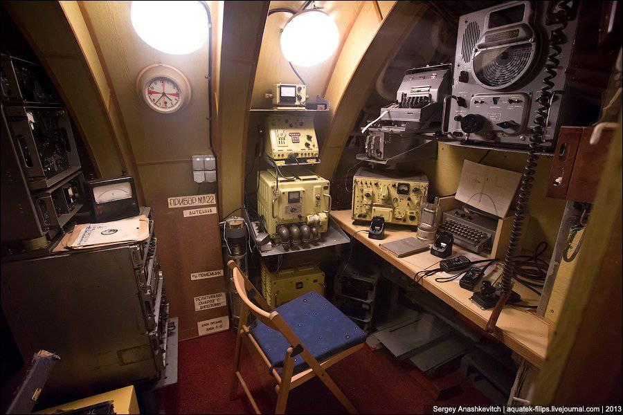 подводные лодки и что находится внутри