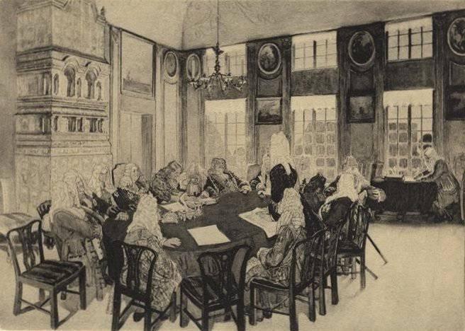 5 Marzo 1711 g. Por decreto de Peter I en Rusia se estableció el Senado Gobernante