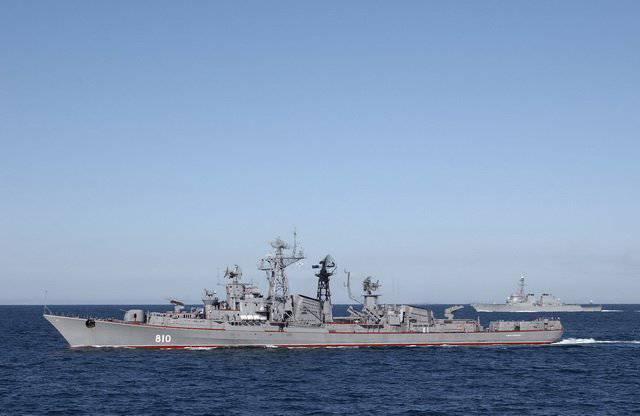 Grandes barcos antisubmarinos de la Marina de la URSS.